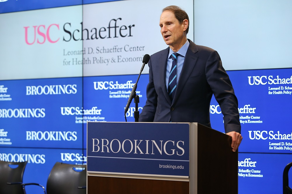 Senator Ron Wyden said Medicare must be updated to meet its guarantee to enrollees in the launch event of the Schaeffer Initiative