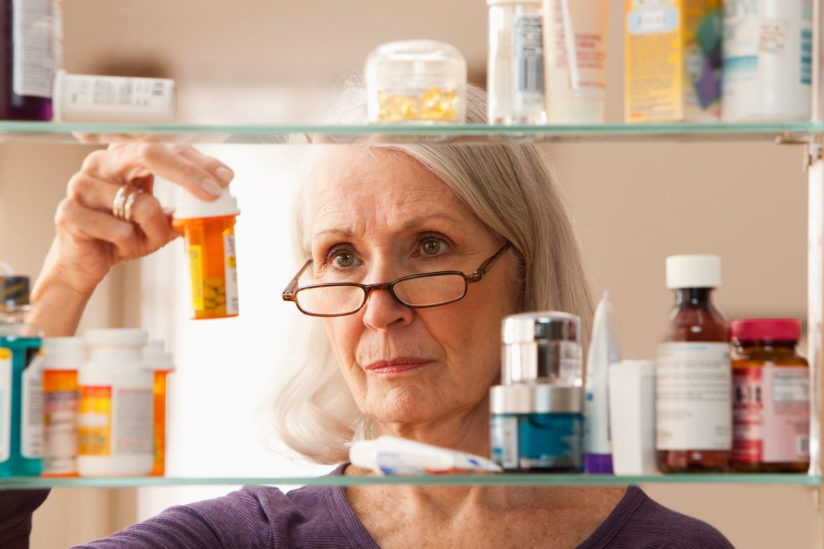 There are no drugs that can treat Alzheimer's disease and related dementias, but even small delays in onset that have been linked to taking statins and other high-blood-pressure medicines can dramatically reduce the burden dementia on patients, caregivers, and the health system as a whole. (Photo/iStock)